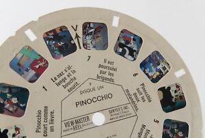 Disque-Stereo-VIEW-MASTER-PINOCCHIO-1959-Disque-N-B-3111