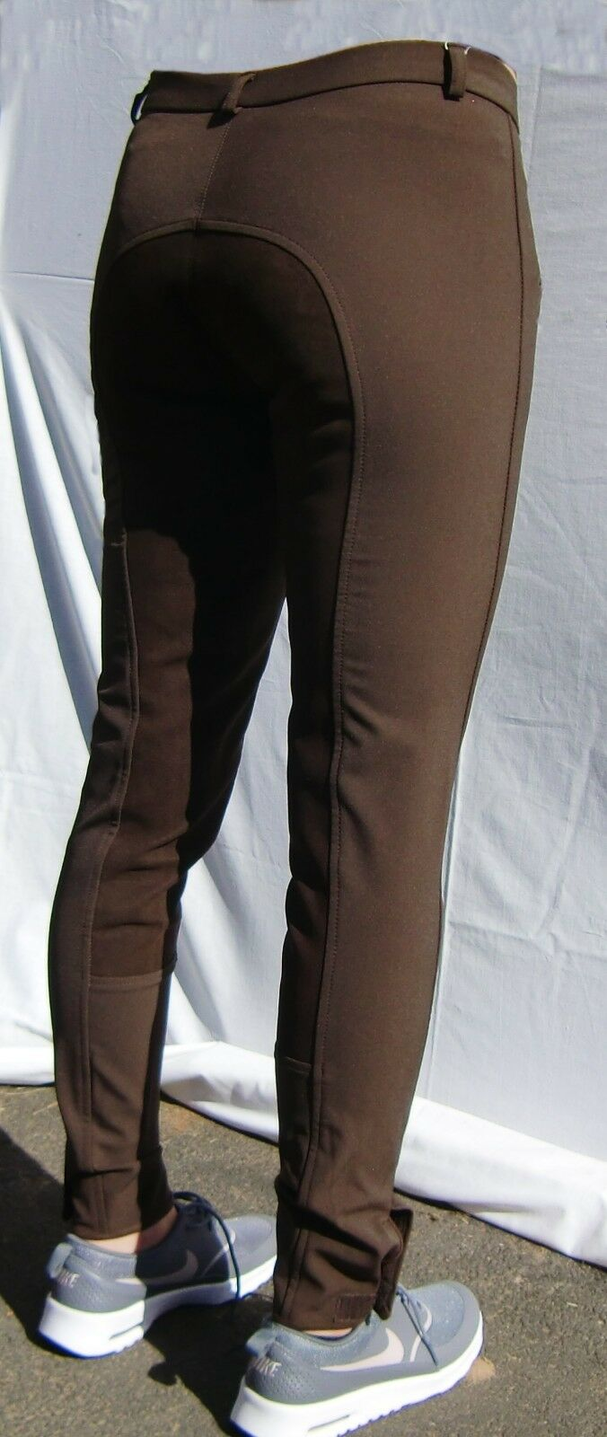 Pfiff Women's Riding Pants SP Full Seat Women Equestrian Trousers Brown 36-44