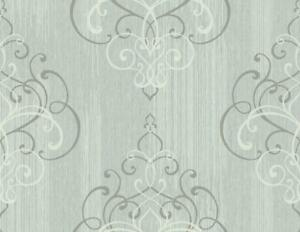 Wallpaper-Designer-Textured-Ink-Gray-Scroll-Damask-on-Light-Aqua