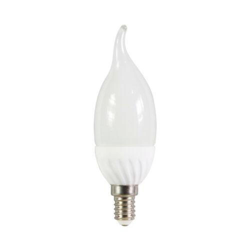 LED Leuchtmittel Windstoßkerze 2W = 15W E14 matt Cosylight Kerzen warmweiß 2700K