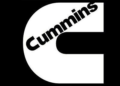 Cummins Flag Logo Vinyl Decal// Window Sticker Decal Diesel Truck Flag