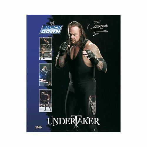 Wwe Plakat Wand The Undertaker Smackdown Druck Wrestling Mini 50 X 40cm 643