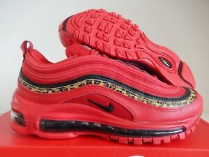 Details about WMNS NIKE AIR MAX 97 UNIVERSITY RED BLACK PRINT SZ 6 [BV6113 600]