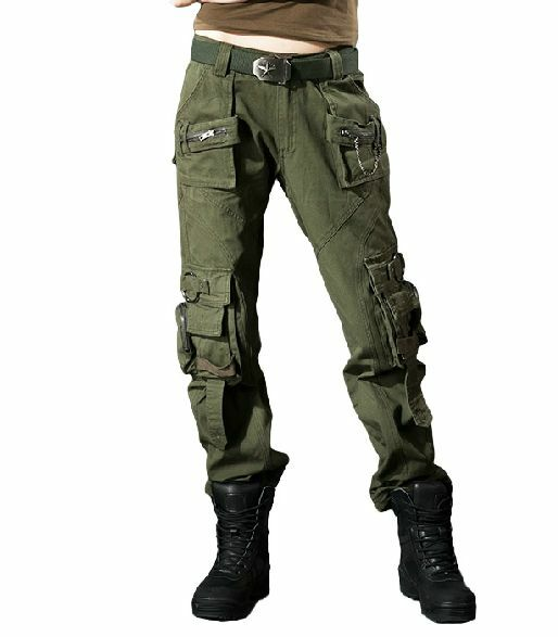 Womens New Combat Camouflage Pants Cargo Military Camo Casual Long  Outdoor Trous  save 60% discount