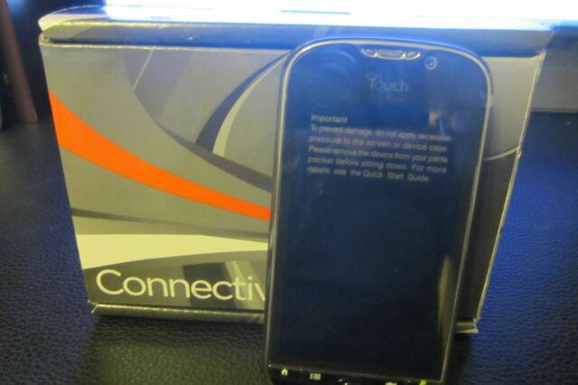 MyTouch - B - Black (Unlocked) Smartphone