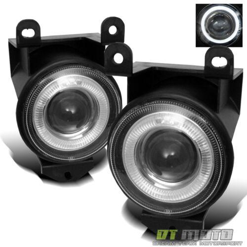 99-06 GMC Yukon Sierra Denali Halo Projector Fog Lights Lamp w//Switch Left+Right