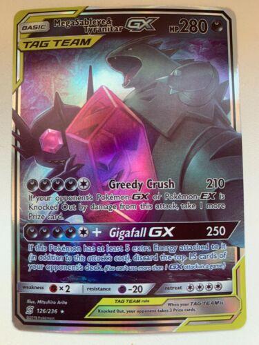 Tag Team Mega Sableye /& Despotar GX Holo Pokemon Karte Proxy