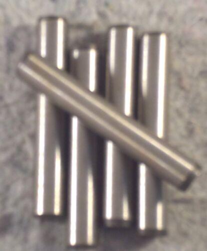 "Qty 10 C15B5 3//16/"" x 2 1//2/"" Dowel Pin Hardened /& Ground Bright Finish"