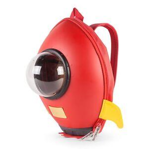 ROCKET Toddler Kids Baby Kindergarten 3D Rucksack Backpack Schoolbag School Bag