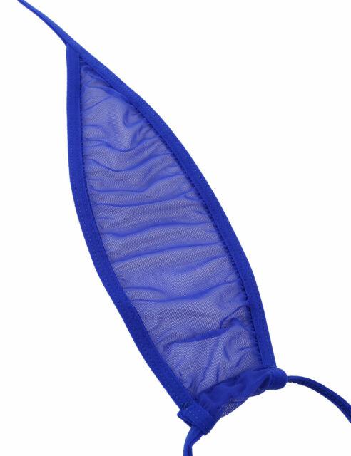 Teardrop Micro Bikini 2pc Mini Micro Triangle Top G String