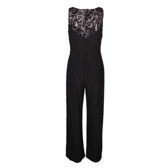 Lauren Ralph Lauren Sequin-Trim Draped Jumpsuit  175 Size 0 A 113 NEW