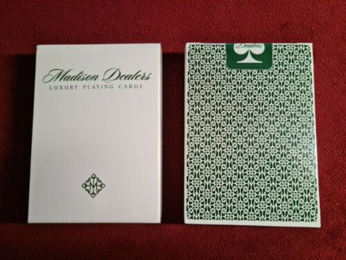 Daniel Madison Green Dealers Marked Playing Cards Deck