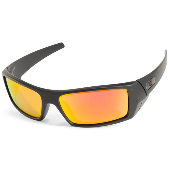 c985713ce0 Oakley Gascan OO9014 26-246 Matte Black Ruby Iridium Men s Sport Sunglasses