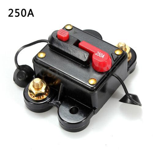 80-300A Sicherungshalter Video Audio System Stereo Modifiziert Schalter