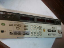Hp Agilent 8970b 10mhz 16 Ghz Noise Figure Meter Front Panel Only