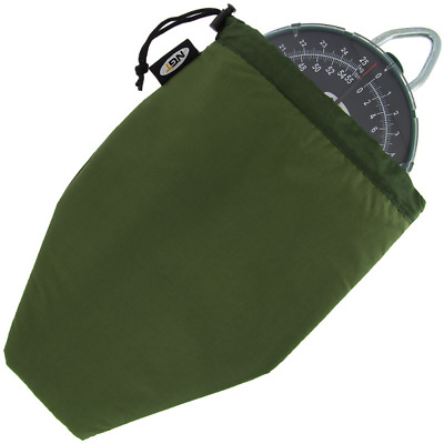 LARGE FACE SCALES BAG POUCH CASE WELL PADDED WITH DRAWSTRING CARP FISHING NGT
