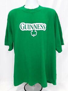 Men-039-s-XXL-Green-Guinness-T-Shirt