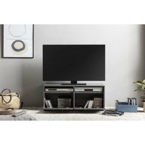 TV Lowboard Unterteil Schrank Board Kommode Fernsehschrank Graphit Old Style