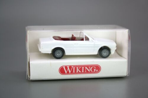 Wiking H0 1:87 Automodell BMW 325i Cabrio weiß 191 01 14 NEU OVP NOS