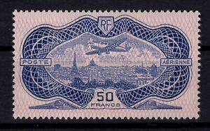 AJ140405-FRANCE-AIRMAIL-Y-amp-T-15-MINT-MH-CERTIFICATE-CV-950