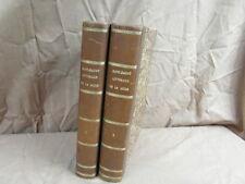 LA MODE ILLUSTREE : 2 VOLUMES DES SUPPLEMENTS LITTERAIRES 1905 à 1908