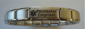 Italian-Charms-Pacemaker-Implant-Pacemaker-Fitted-Medical-Alert-Bracelet