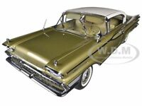 1959 Mercury Park Lane Golden Beige 1/18 Platinum Edition By Sunstar 5163