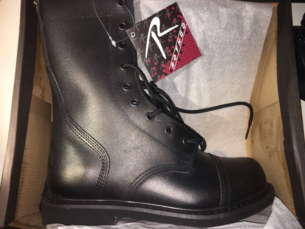 NEW redhco Combat Boots GI Military  9   in Black Size 6.5 5075 in BOX