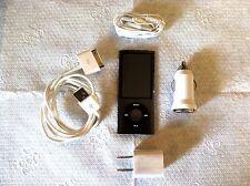Apple iPod nano 5th Generation Black (8GB) MANY ACCESSORIES!