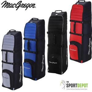 MacGregor VIP II Padded Wheeled Deluxe Travel Flight Golf Cover Bag