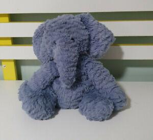Jellycat-Fuddlewuddle-Elephant-Soft-Toy-Baby-Comforter-Blue-PURPLE-21CM-SEATED