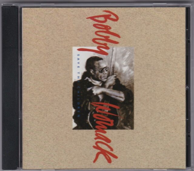 Bobby Womack - Save The Children - CD (Epic 4662282 Australian Promo Stamped)