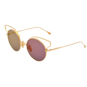 4cfdd8b1293d Image is loading Dita-Sunglasses-BELIEVER-23008A-Gold-Frame-Gold-Flash-