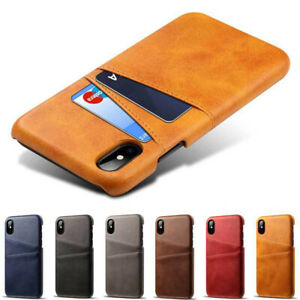 Funda-billetera-cuero-para-iPhone-XS-Max-XR-X-6-6s-7-8-Plus-5-SE-tarjeta-carcasa