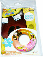 "Spongebob Squarepants - Swim Ring Inflatable Pool Toy 20"""