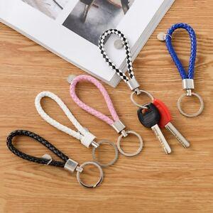 Lanyard-Keyring-Woven-Keychain-Car-Key-Holder-Loop-Strap-Pendant-Random-Gift-1PC