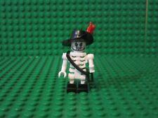 Lego Pirates of the Caribbean Skeleton Barbossa minifigure 4181 new