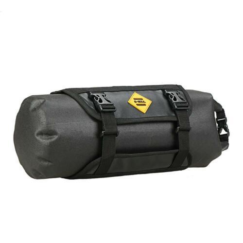 B SOUL Waterproof Bike Front Tube Bag Handlebar Basket Pack Frame Pocket C#P5