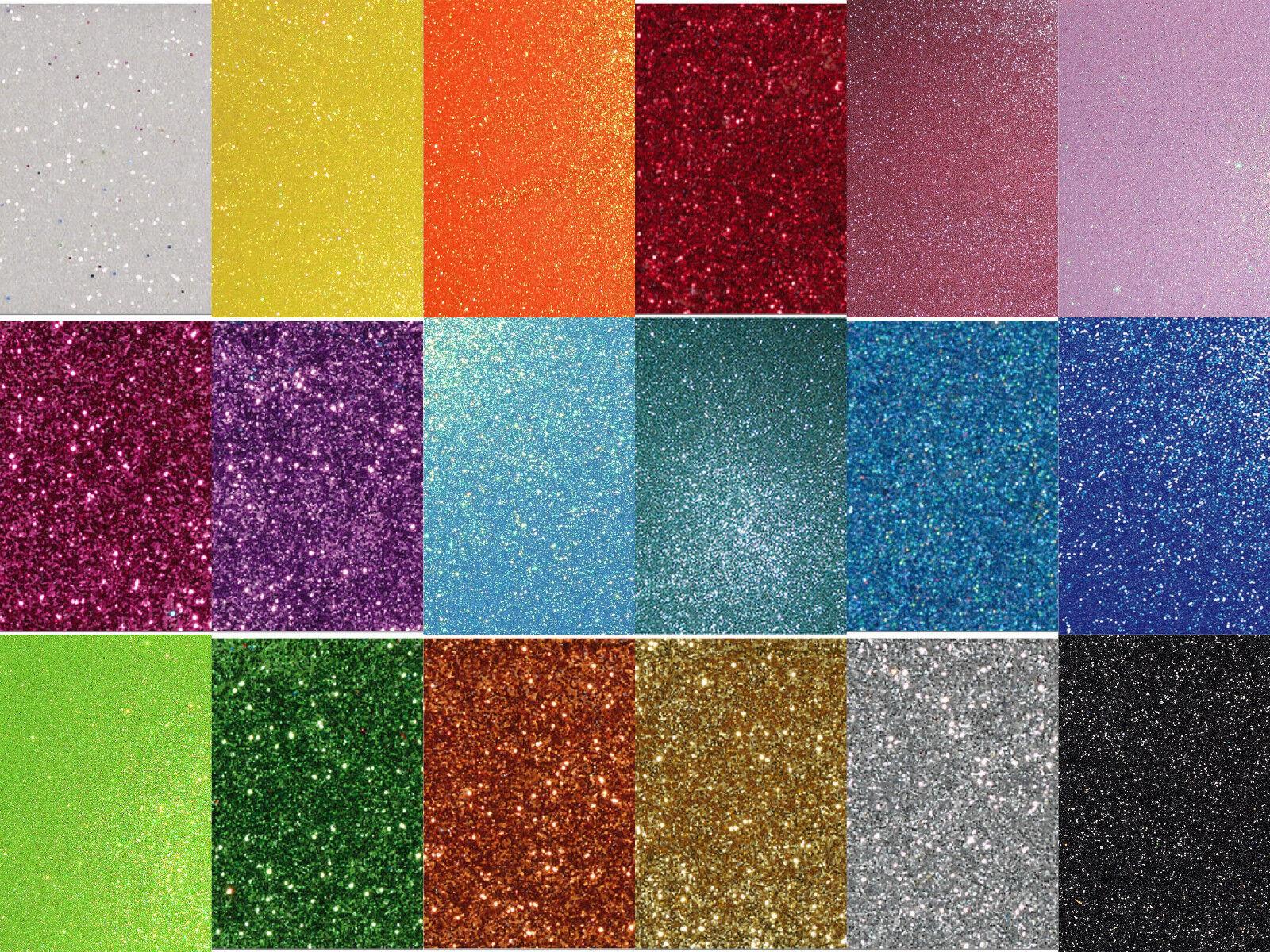 Moosgummiplatte Glitter lila 200 x 300 x 2mm 1 Bogen