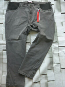 Sheego-Jeans-Trousers-Power-Stretch-Grey-Ladies-Size-48-to-58-plus-777-044