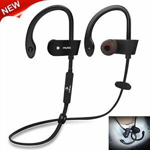 Im Ohr Kopfhörer Bluetooth Sport Kabellos Stereo Headset Für HUAWEI Samsung