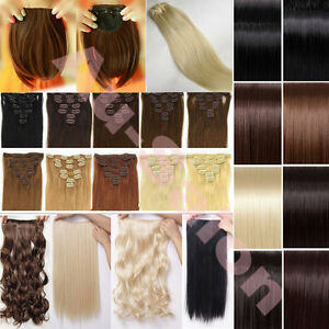 18-24-26-Long-new-Straight-curly-full-head-clip-in-hair-extensions-613-U21U