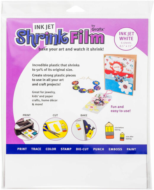 GRAFIX 30-Pound 8-1//2-Inch by 11-Inch Vellum Inkjet Printable Clear 50-Pack
