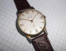 Alte Herren ⌚ DAVAR WATCH kleine Sekunde 60er Vintage Handaufzug Swiss Made Uhr