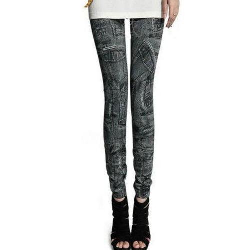Womens Pant Thick Warm Fleece lined Winter Slim Skinny Stretch Sport Leggings