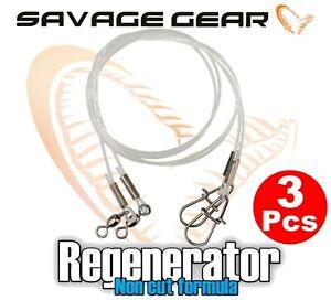 Savage-Gear-Regenerator-Spuren-3Pcs-fur-See-Fischen-Spiel-Koder-Hecht-Barsch-Ul