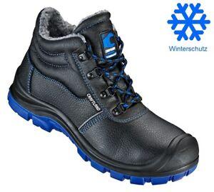 più recente 151c5 46973 Dettagli su Scarpe da Lavoro Scarpe Invernali Sicurezza pelle S3 Stivali  Invernali Imbottiti