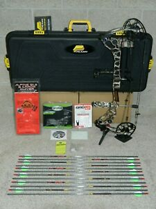 Loaded Mathews Halon 6 Bow Package- Most DL Av- 60 to 70 lb- Lost XD Camo