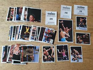 Panini WWF Superstars 1997,complete sticker set, #1-180, Rocky Maivia,Stone Cold