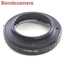 Confermare macro PENTAX K PK Lens per Nikon F Mount Adapter Fotocamera D800 D5200 D7100